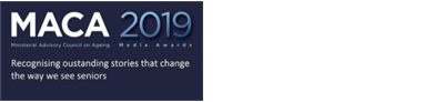 MACA Logo: Winner of 2019 NSW Ministerial Advisory Council on Ageing Health & Lifestyle Media Award