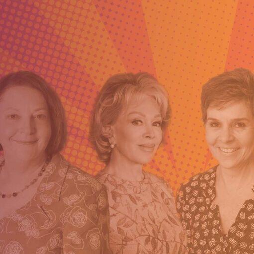 Blanche D'Alpuget, Alice Mantel and Elena Katrakis