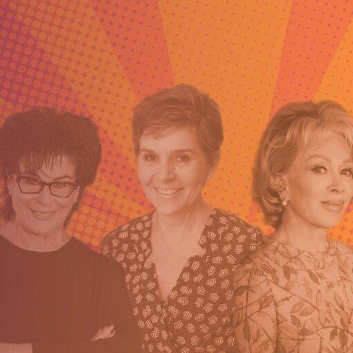Blanche D'Alpuget, Jillian McGrath and Elena Katrakis