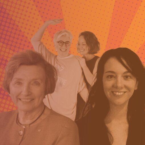 Tracey West, Gai Brennan and Kathryn Greiner